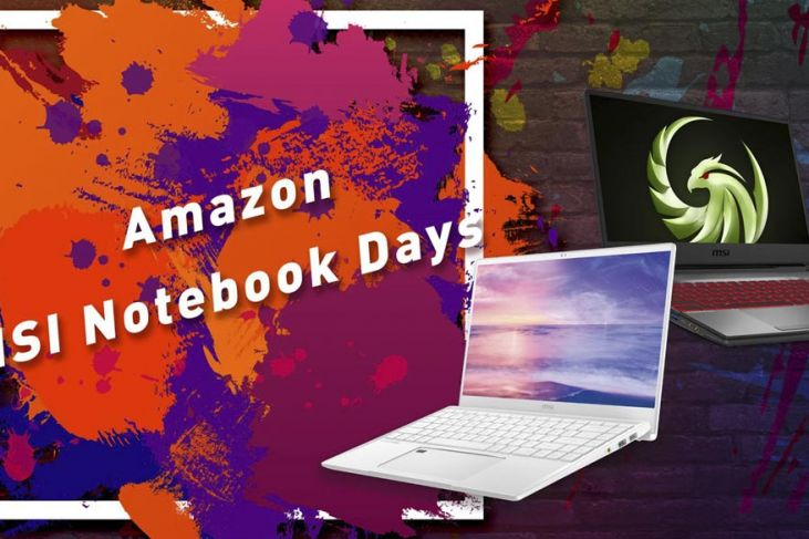 Amazon MSI Notebook Days