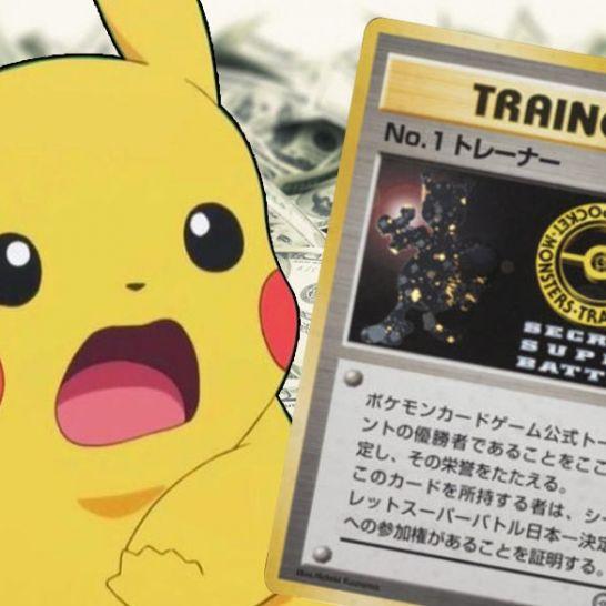 carta pokemon record