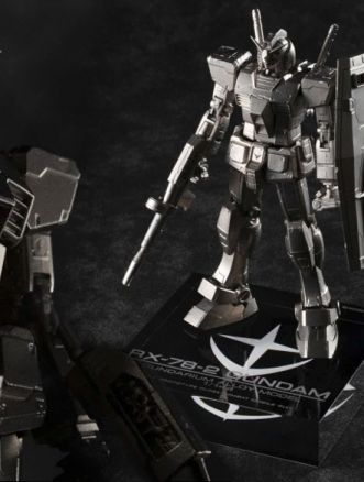 model kit Gundam metallo