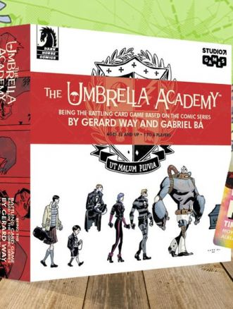 the umbrella academy gioco di carte