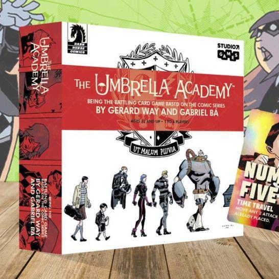 the umbrella academy gioco di carte