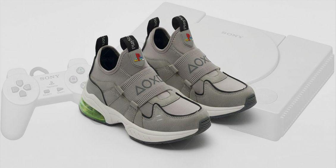 scarpe a tema PS1