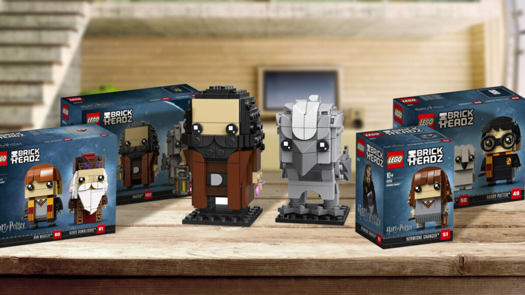 LEGO brickheadz hagrid fierobecco