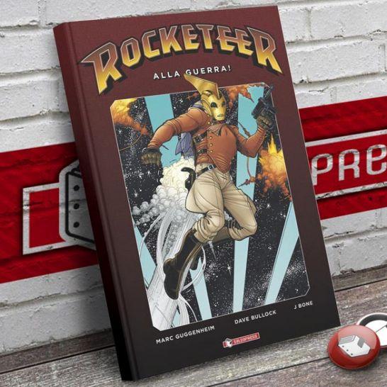 Rocketeer Alla guerra saldapress