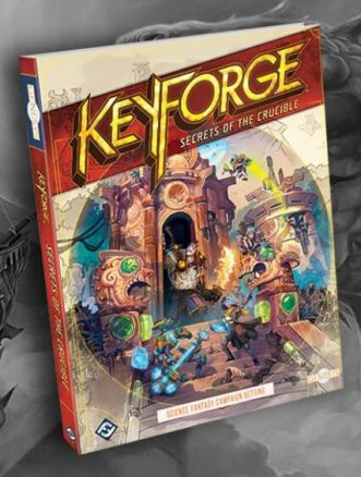 keyforge gioco di ruolo secret of the crucible