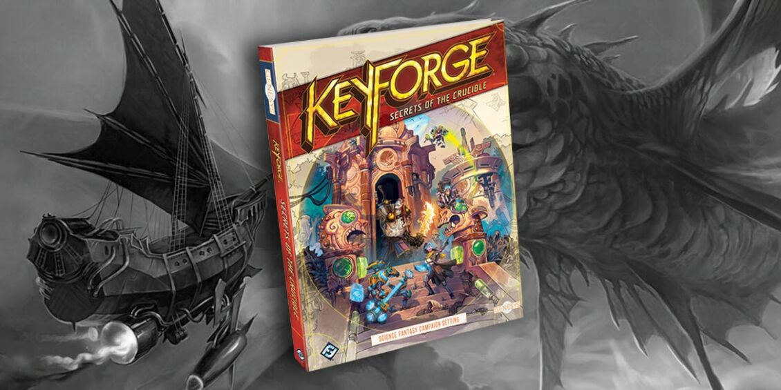 keyforge gioco di ruolo secret of the crucible
