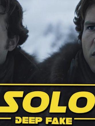 Solo: A Star Wars Story deepfake