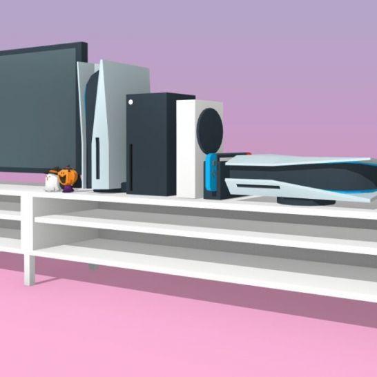 Dimensioni spazio Xbox Sereis X PS5