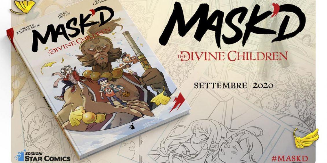MASKD THE DIVINE CHILDREN edizioni star comics