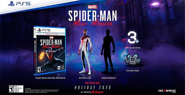 Marvels Spider Man Miles Morales bonus preorder