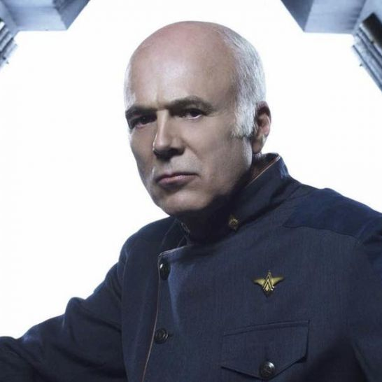 Michael Hogan Saul Tigh Battlestar Galactica