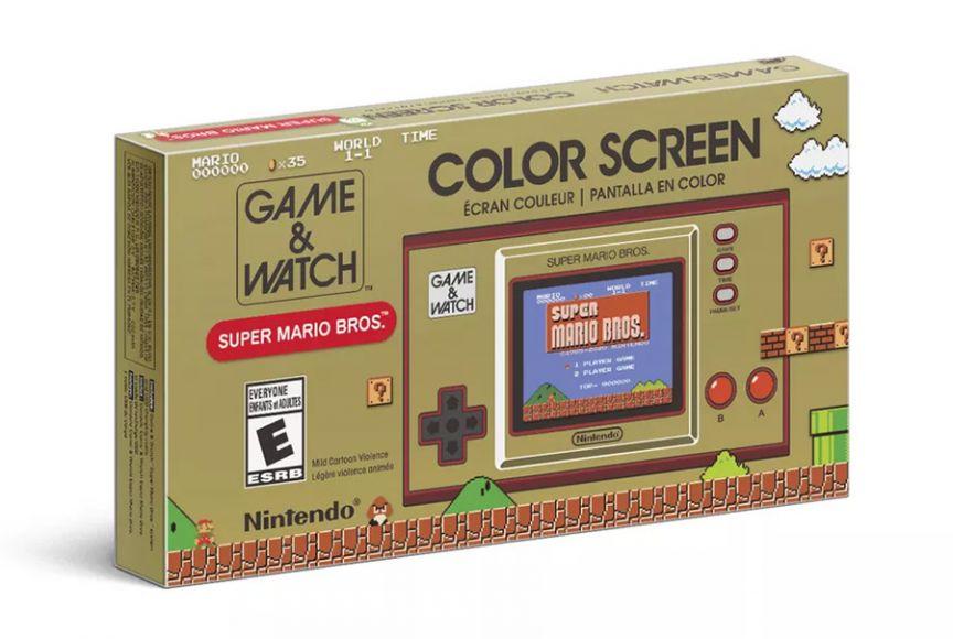 Nintendo Super Mario Game & Watch