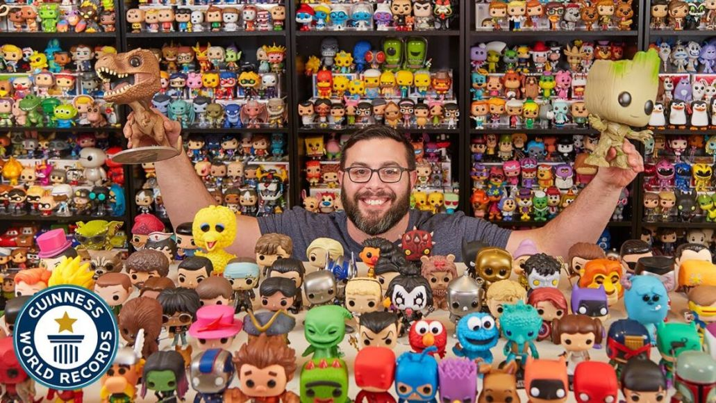 Paul Scardino Funko Pop Guinness World Record