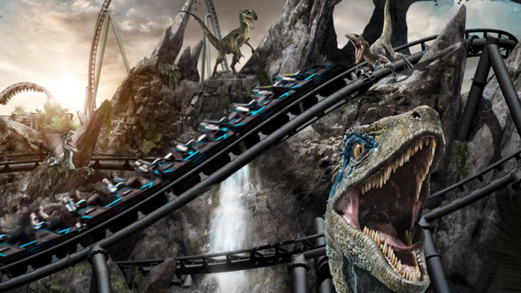 Velocicoaster Jurassic World