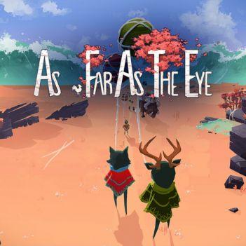 as far as the eye