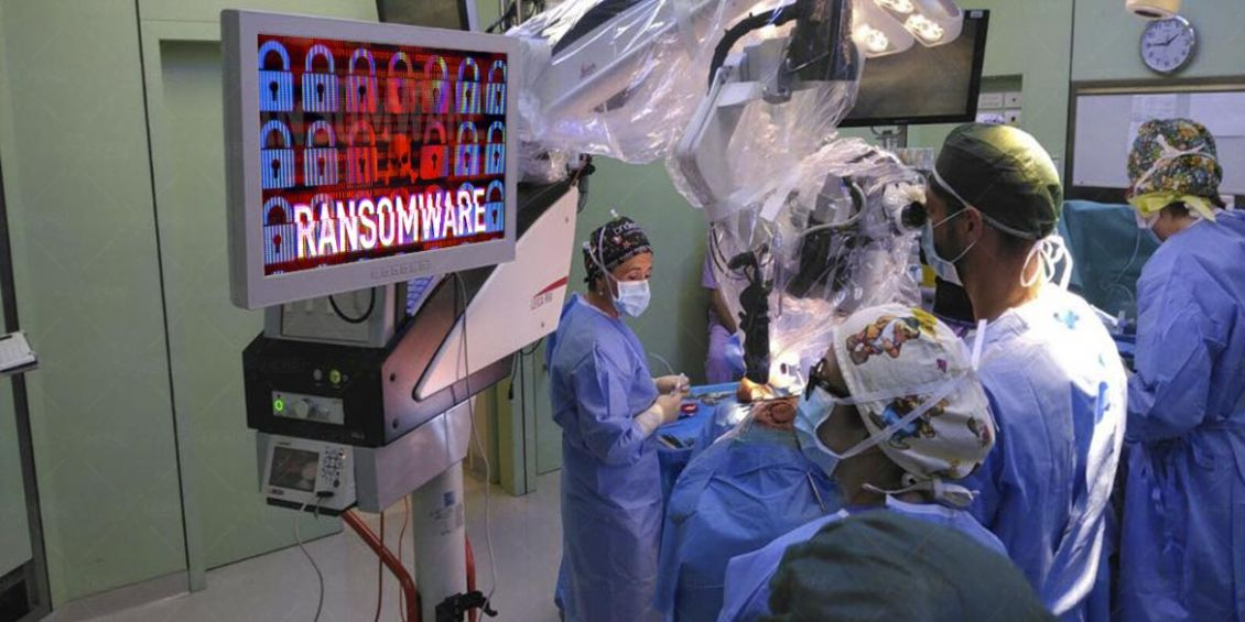 attacco ransomware ospedale