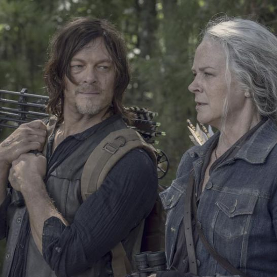 daryl e carol the walking dead