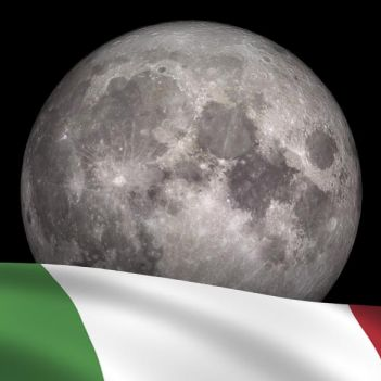 italia sulla luna