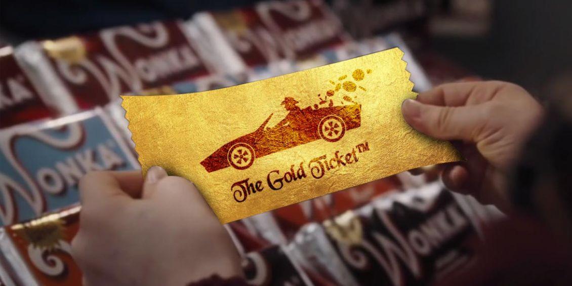 jlly belly tesoro biglietto oro