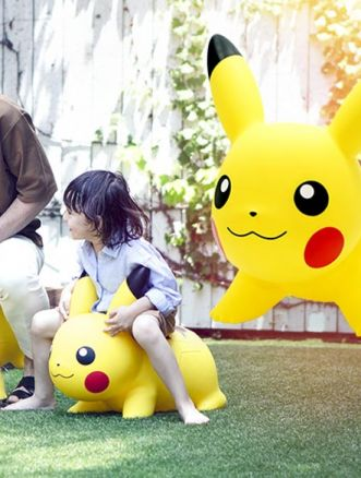 pokemon air Pikachu di gomma