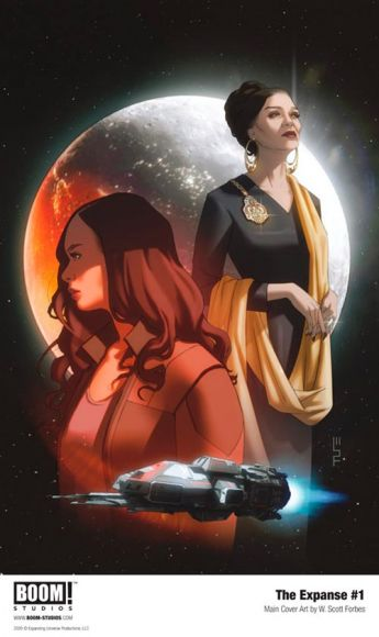 the expanse fumetto cover
