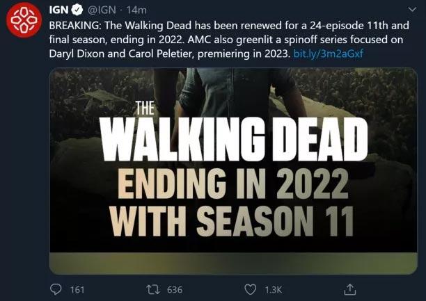the walking dead 11 twitter