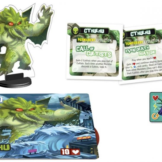 King of Tokyo Cthulhu Monster Pack