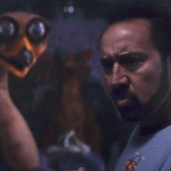 Wallys Wonderland Nicolas Cage