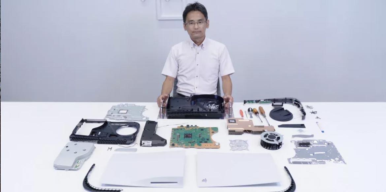 Yasuhiro Ootori smonta playstation 5