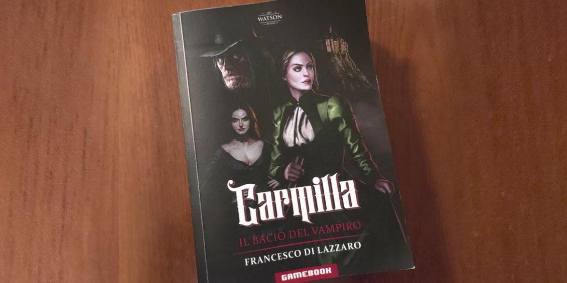 carmilla il bacio del vampiro librogame