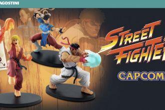 collezione street fighter de agostini cover