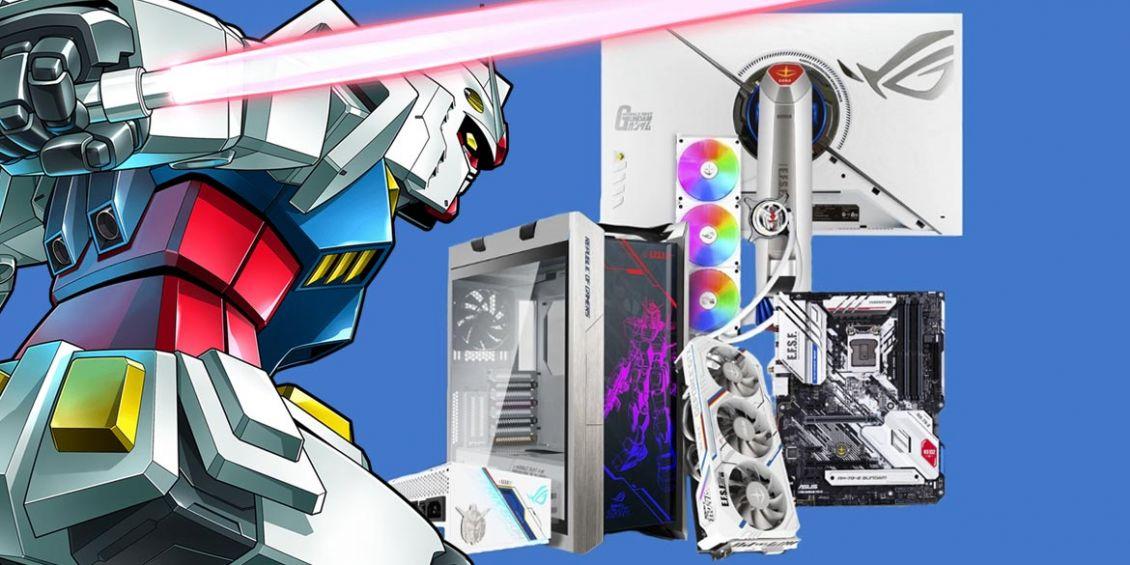 computer ASUS a tema Gundam