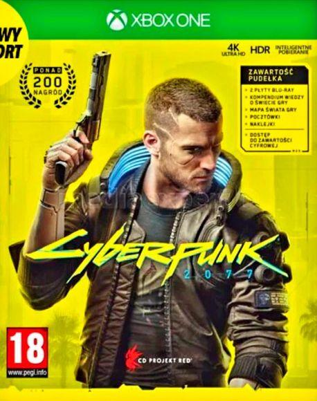 cyberpunk 2077 cover polacca xbox one