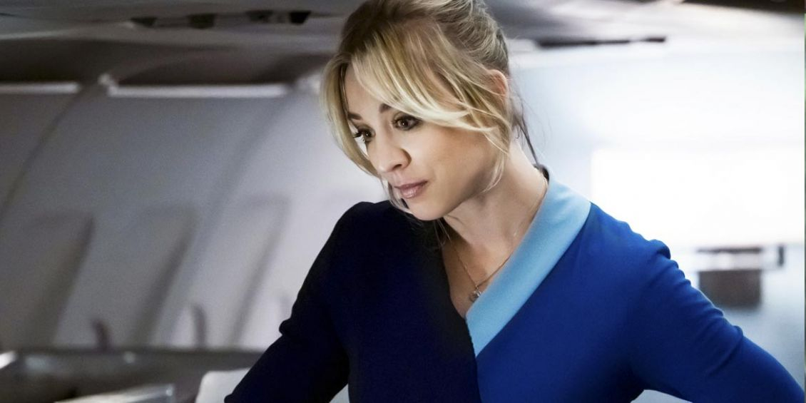 kaley cuoco the flight attendant