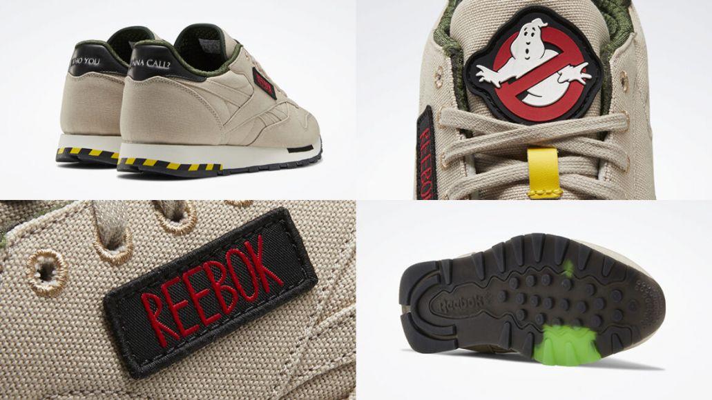 reebok scarpe ghostbusters dettaglio 1