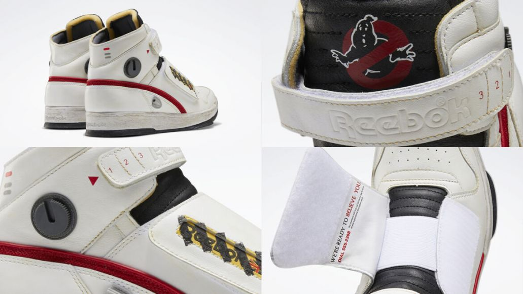 reebok scarpe ghostbusters dettaglio 2
