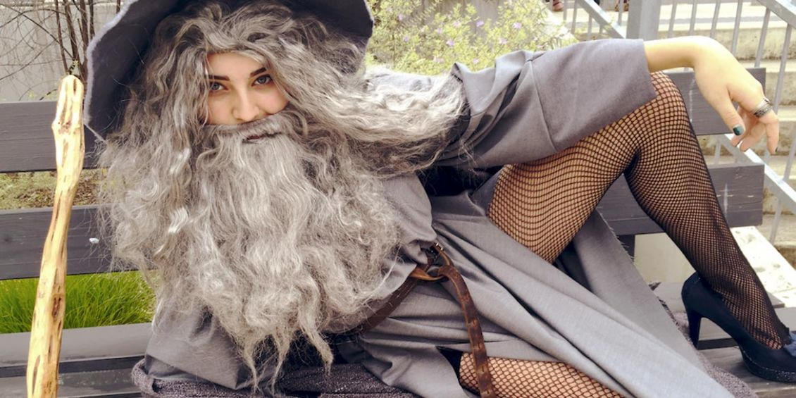 Il Signore degli Anelli Amazon sexy gandalf cosplay