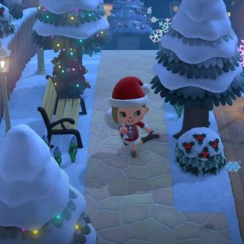 Animal Crossing New Horizons Natale