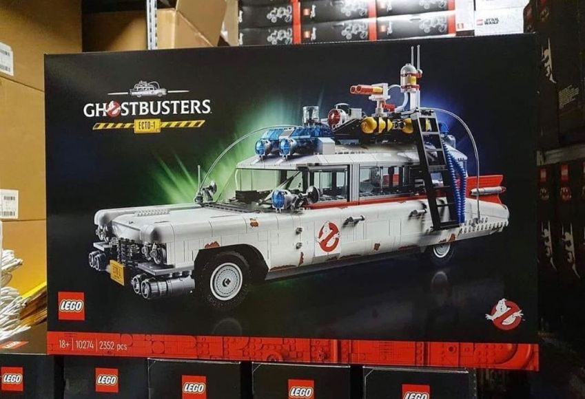 LEGO 10274 Ghostbusters ECTO 1