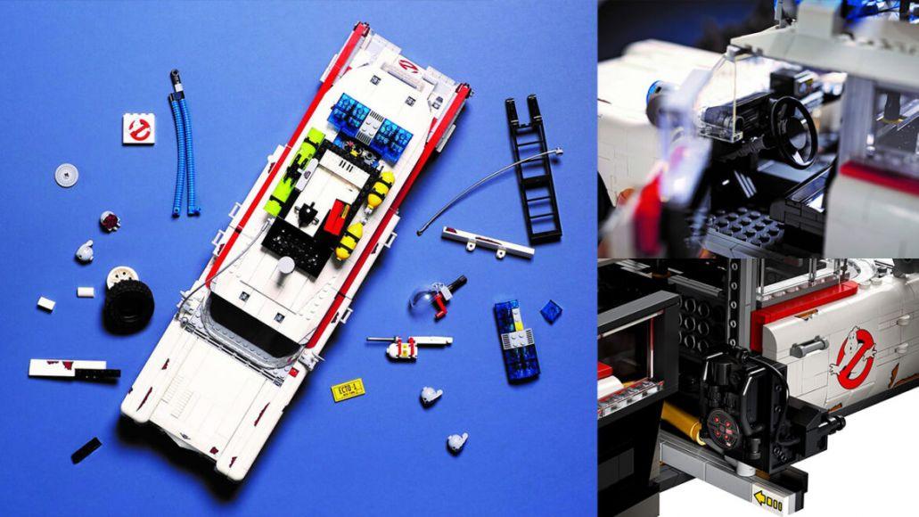 LEGO Ecto 1 dettagli