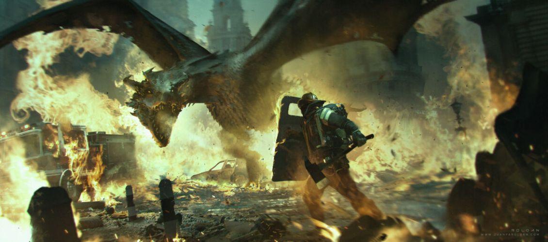 Reign of Fire Il Regno di Fuoco Concept