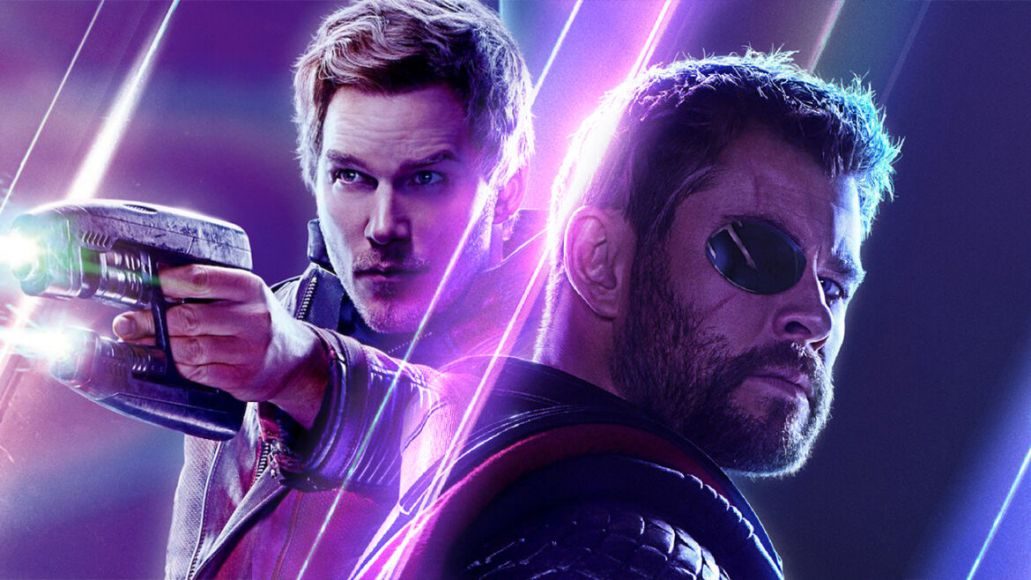 Thor and Star Lord