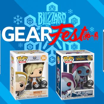 blizzard gearfest funko pop