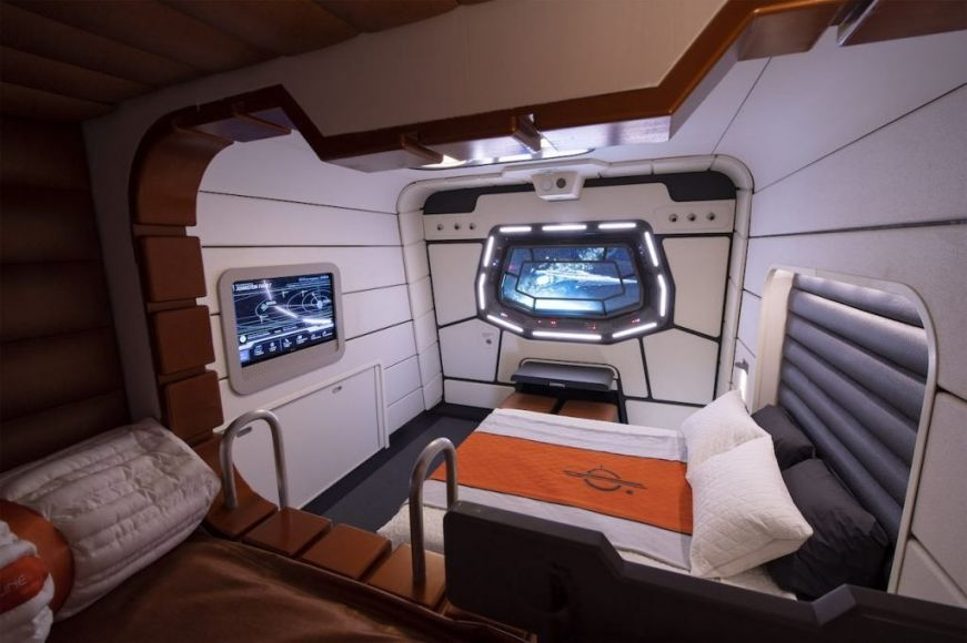 camere letto galactic starcruiser