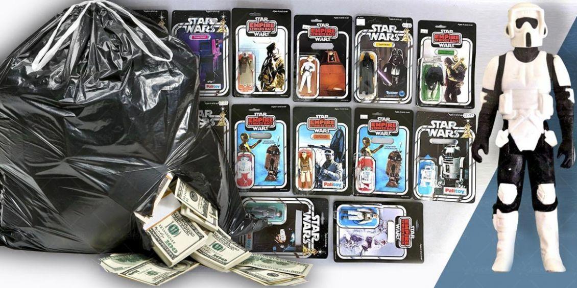 collezione star wars spazzatura