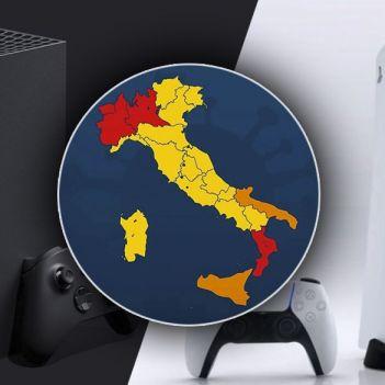 consegne Xbox Series X e PS5 zone rosse