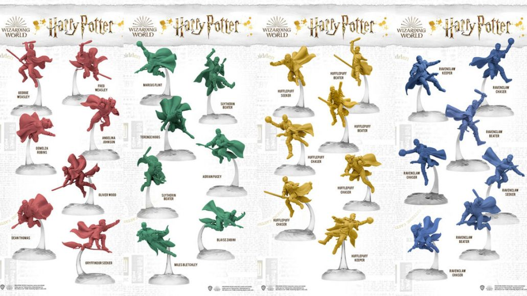 harry potter quidditch kickstarter miniature