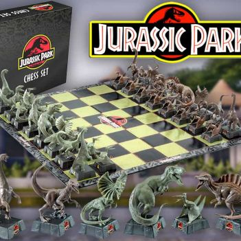 jurassic park scacchiera