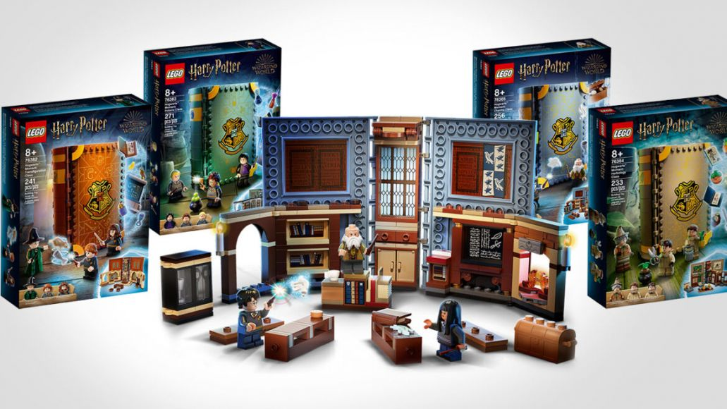 lego potter libri case box