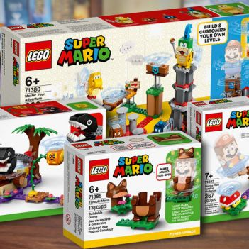 lego super mario nuovi set